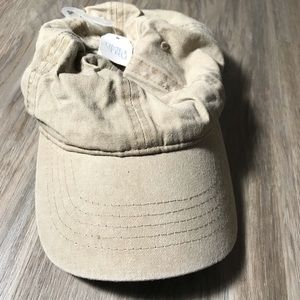 Time and Tru women's khaki baseball cap NWT
